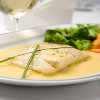Fish with White Sauce Recipe