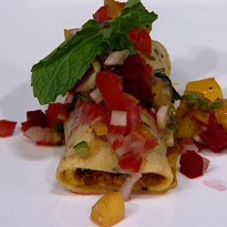 Recipe of Crab Wrapped in Corn Paratha