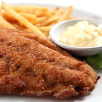 Fried Fish with Tartar Sauce