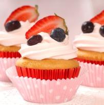 Fruit Cupcakes