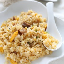Garlic and Egg Fried Rice Recipe