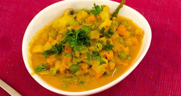 Ghanta orriya vegetable curry recipe by chef senapati toshali ghanta orriya vegetable curry recipe by chef senapati toshali sands resort orissa ndtv food forumfinder Image collections