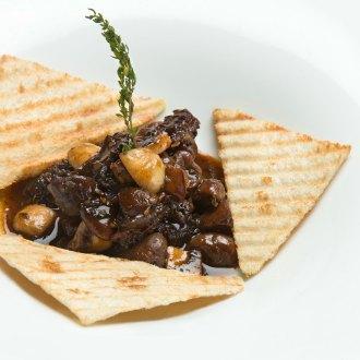 Gousse d' Ail (Mushroom on Toast)
