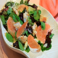 Recipe of Grapefruit Paneer Salad
