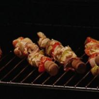Chicken Barbequed Skewers