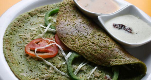 Pesarattu green gram dosa recipe by niru gupta ndtv food forumfinder Gallery