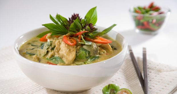 Recipe of Thai Green Chicken Curry