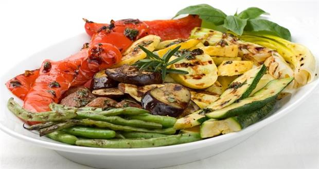 Grilled Vegetable Capachio