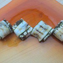Grilled Zucchini with Cottage Cheese