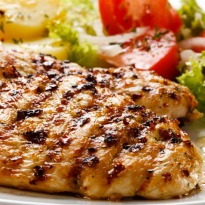 Grilled Chicken in Mustard Sauce