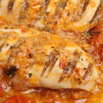 Grilled Chicken with Shallot Sauce