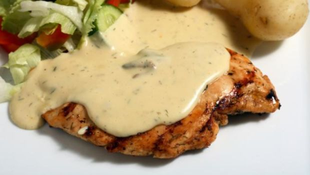 Grilled Chicken in Mustard Sauce Recipe