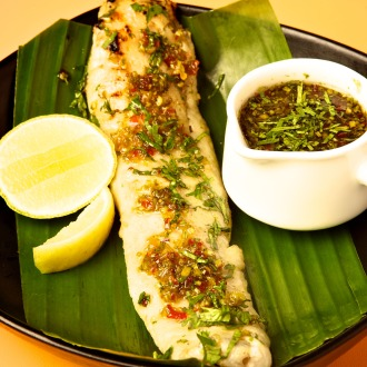 Grilled Fish South-East Asian Dressing