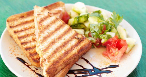 Grilled Cheese Sandwich Recipe by Niru Gupta - NDTV Food