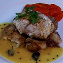Recipe of Pan Seared Grouper with Kairy Curry