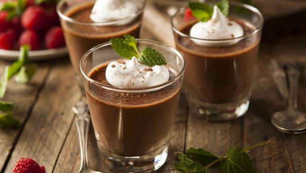 Recipe of Guilt Free Dark Chocolate Mousse
