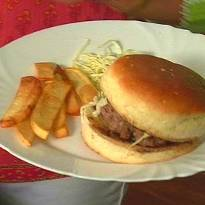 Hamburgers and Fries  Recipe