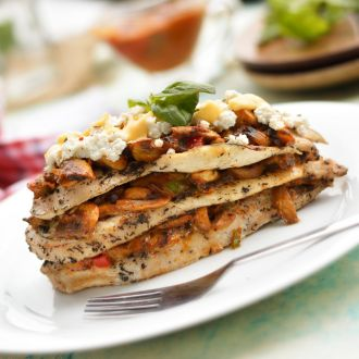 Recipe of Chicken and Mushroom Lasagna