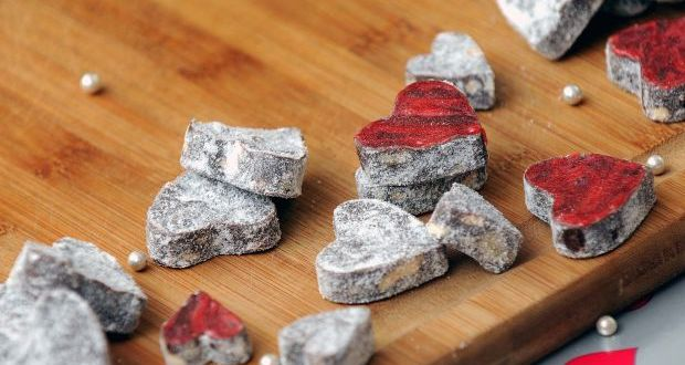 Recipe of Heart Shape Nutty Fudge