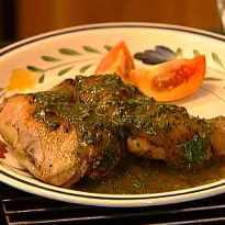 Herb Stuffed Chicken
