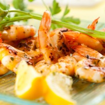 Recipe of Hot Rock Garlic Prawns