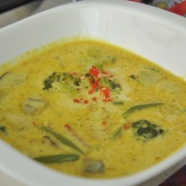 Recipe of Hot Yellow Curry with Vegetables