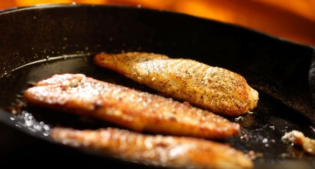 Recipe of Pan Seared Trout