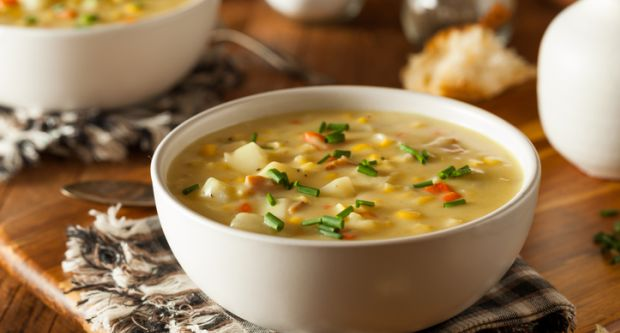 Recipe of Potato and Corn Soup