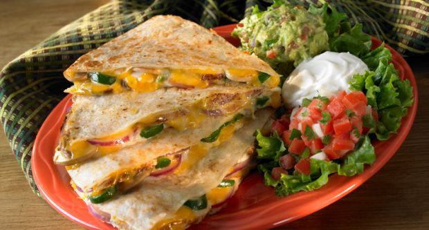 Cheese and Chilli Quesadillas