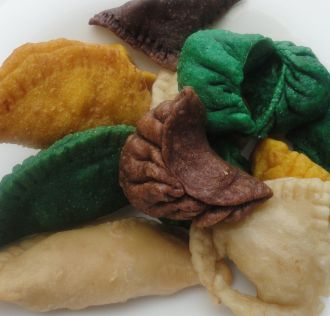 Gujiya latest news photos videos on gujiya ndtv chocolate hazelnut gujiya forumfinder Choice Image