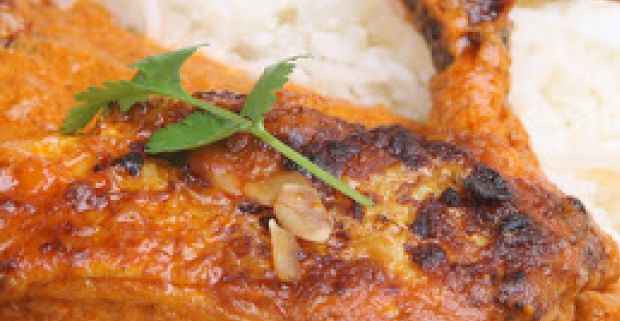 Indian Style Baked Chicken