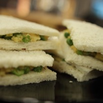 Peas & Potato Sandwich