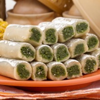 One of the most popular Indian mithai. Elongated rolls made with ...