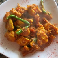 Kerala Chicken Roast