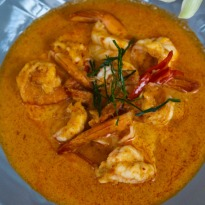 Light Malabari Prawn Curry