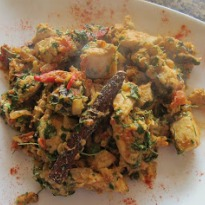 Khada Masala Murg with Kasoori Methi