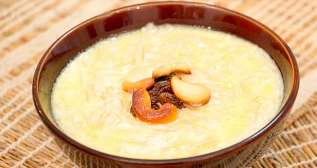 Recipe of Peach & Apricot Kheer (My Yellow Table)