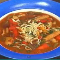 Kidney Beans and Pasta Soup Recipe
