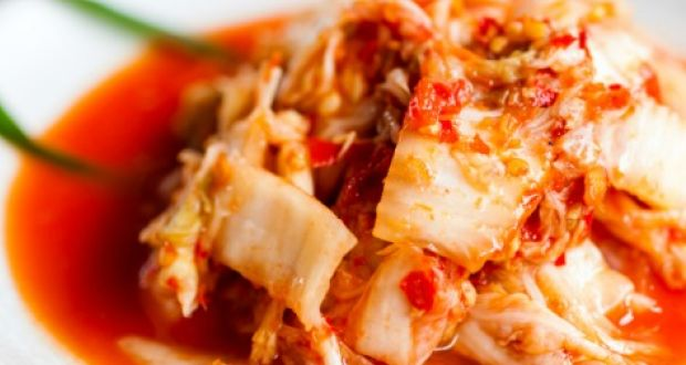 Kimchi recipe by niru gupta ndtv food cabbage soaked in the flavors of garlic ginger soya sauce vinegar and chilli flakes heres for you kimchi salad recipe a korean favorite forumfinder Gallery