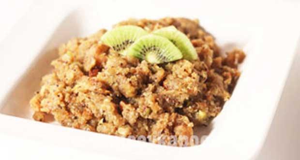 Kiwi Bread Halwa
