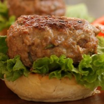 Juicy Lamb Burger