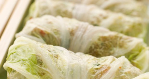Lettuce Wrapped Cottage Cheese