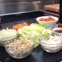 Spicy Chicken Lettuce Wrap
