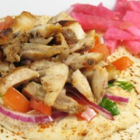 Recipe of Low Fat Chicken Shawarma
