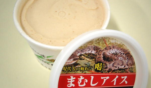 Raw Horsemeat Ice-Cream