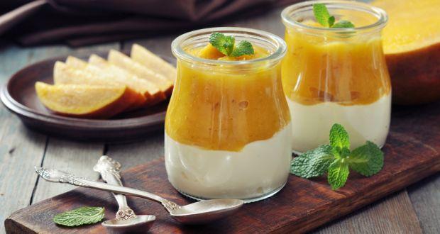 Eggless Mango Mousse Recipe By Niru Gupta