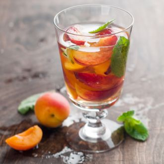 Recipe of Mango and Peach White Iced Tea