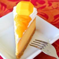 Mango & Black Pepper Cheesecake