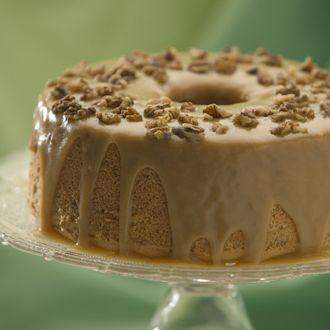 Maple Walnut Chiffon Cake Recipe By Canola Info Ndtv Food