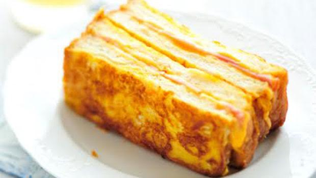 Masala Cheese French Toast